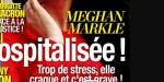 Prince Harry inquiet pour Meghan Markle, hospitalisée, trop de stress, elle craque (photo)
