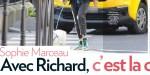 Sophie Marceau, ça chauffe avec Richard, elle trouve refuge chez ses enfants