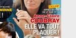 Anne-Claire Coudray, après six ans de JT,  elle va tout plaquer