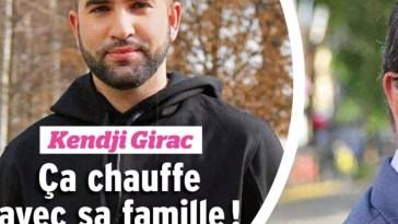 Kendji Girac, ça chauffe avec sa famille, sa mise au pont