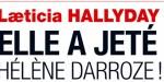 Laeticia Hallyday, jeu de massacre, elle a jeté Hélène Darroze