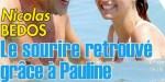 Nicolas Bedos, sourire retrouvé avec Pauline, sa parenthèse enchantée à Nice