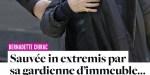 Bernadette Chirac, fuite de gaz, sauvée in extremis par sa gardienne d'immeuble
