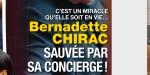Bernadette Chirac, une nuit en enfer, réfugiée dans la prière après un miracle