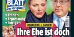 Charlène de Monaco, retour compliqué d'Afrique du Sud - Game of Thrones avec Caroline