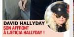 David Hallyday, son affront à Laeticia Hallyday