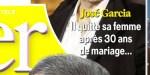 José Garcia quitte Isabelle Doval après trente ans de mariage