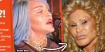 Madonna défigurée à New York, elle est comparée à Catwoman