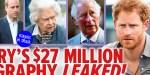 Meghan Markle, une énorme pression sur le prince Harry - le contenu de ses mémoires dévoilé