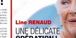 Line Renaud face au drame, une autre opération délicate