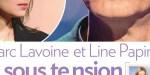 Marc Lavoine en pleine crise - Line Papin ne porte plus son alliance