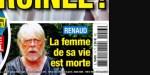 Renaud sous le choc, la femme de sa vie est morte