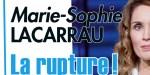 Marie-Sophie Lacarrau, la rupture douloureuse après 13 ans de fidélité