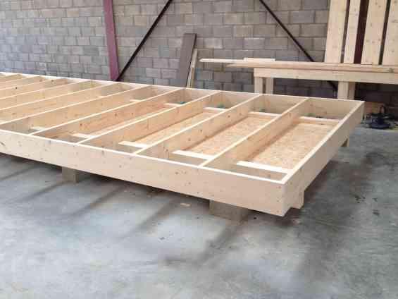 châssis en bois structure en bois le goût du bois