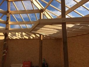 le gout du bois yourte maison hexagonale ossature bois