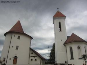 Kranj - Les donjons de la ville