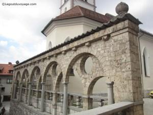 Fontaine de Jože Plečnik