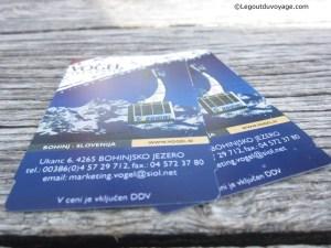 Vacances au ski - Téléphérique Vogel