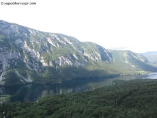 Vacances au ski - Vu lac de Bohinj