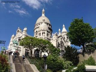 Vacances à Paris - Sacré Coeur