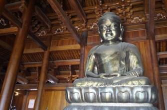 Le grand Bouddha d'argent