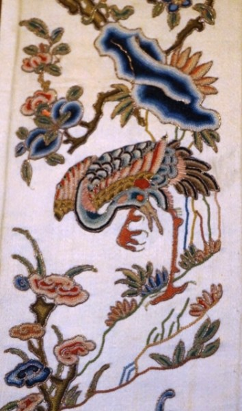 Broderie au musée de Suzhou