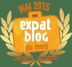 Blog du mois sur Expat Blog