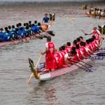 Fête des bateaux-dragons à Shanghai