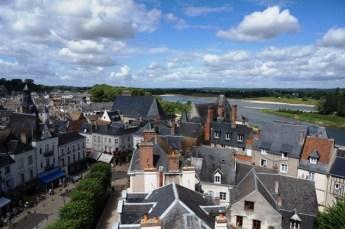 Vue de la Loire depuis le château
