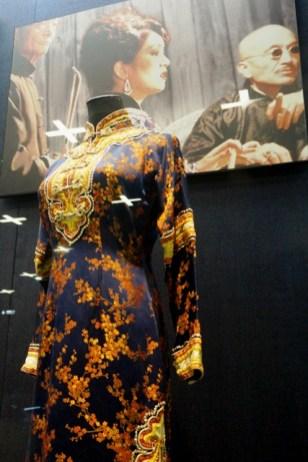 La qipao que portait Gong Li dans Shanghai Triad