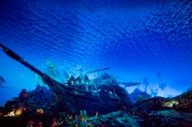 Sous l'eau avec les pirates....