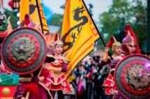 Mulan à l'honneur dans la parade