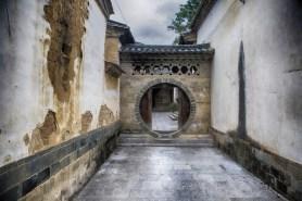 Enfilade de portes