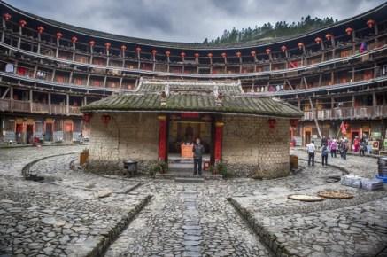 Le tulou de Yuchanglou, le plus ancien de la région.