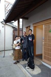 Takeshi Wakamiya et sa famille