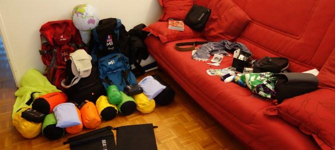 J- 3 : faire les sacs et paniquer… un peu !
