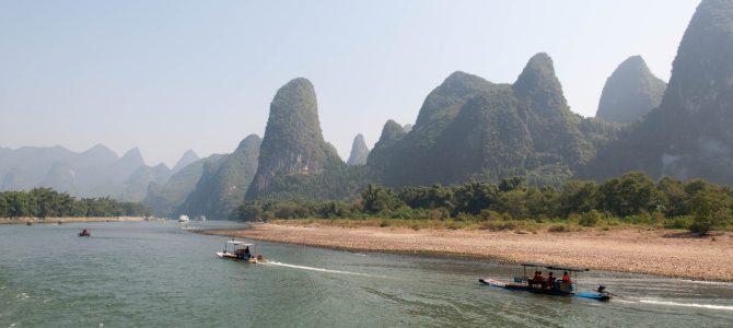 Guilin day/jour 1 – The river Li/La rivière Li