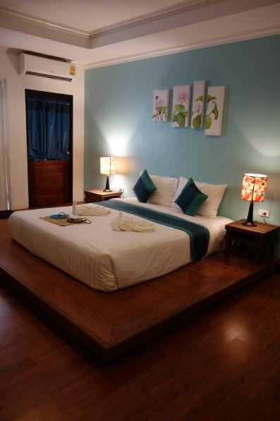 Notre chambre à l'Aukotan