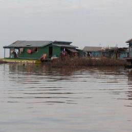Last village before the lake