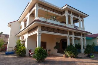 La Belle Villa and it's balconies!
