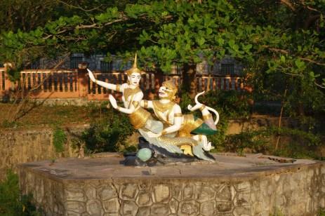 Hanuman and the goddess
