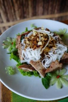 BBQ pork and noodles #1