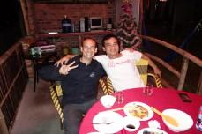 Stéph and Mr Hau