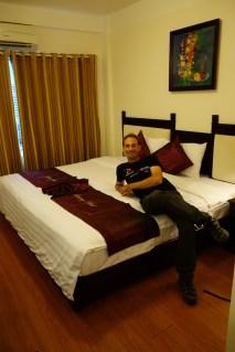 Un lit suffisamment large