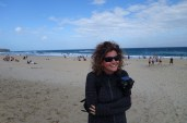 Windy beach!