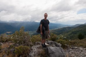 Sommet de la Takaka Hill - Summit of the Takaka Hill