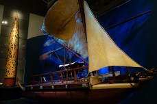 Radeau des premiers maoris - Raft of the first Maoris