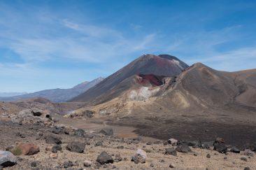 Le volcan Ngauruhoe - Ngauruhoe volcano