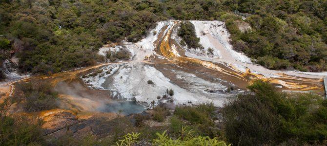 Lac Taupo et découvertes géothermiques – Lake Taupo and geothermal discoveries