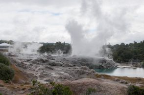 The Prince of Wales geyser - Le geyser du Prince de Galles